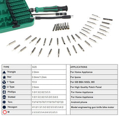 45 In 1 Magnetic Screwdriver Set