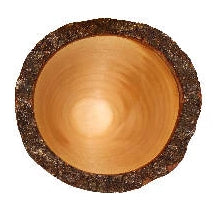 Angled Maple Bowl