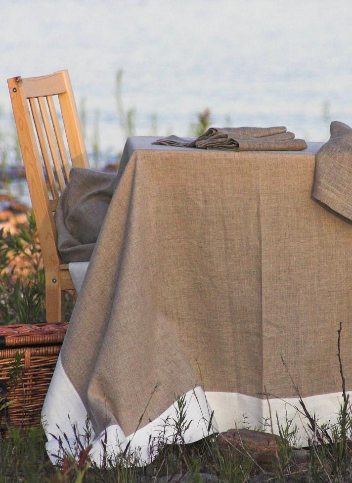 Serenite Linen Tablecloth
