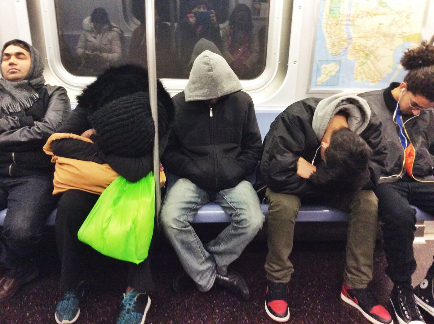 How a Napping Subway Commuter's Brain Knows When It's Their Stop