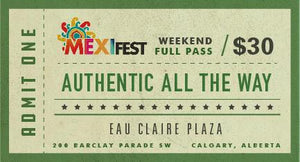 Mexifest Admission Pass 2020