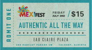 Mexifest Admission Pass
