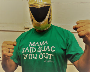 Mama said Guac you out - T-shirt in green