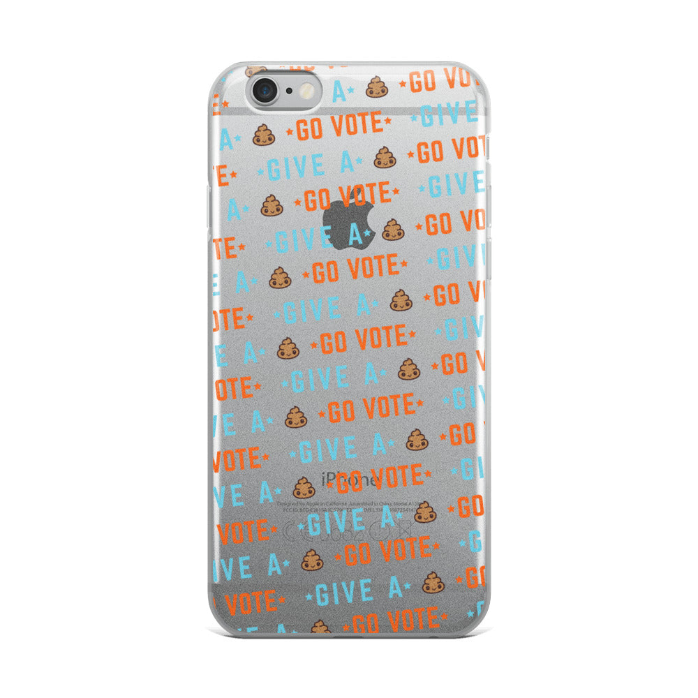 Go Vote iPhone Case