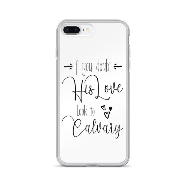 Look to Calvary - iPhone 7/8 Case [White]