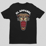 Wild Illusion Tee - Black - XLAPPAREL