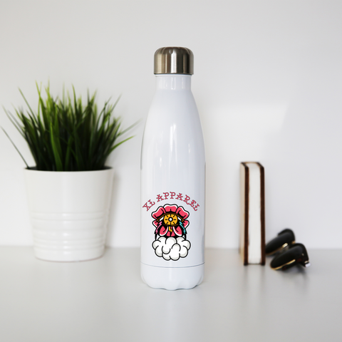 Thunder Rose Stainless Steel Water Bottle - XLAPPAREL