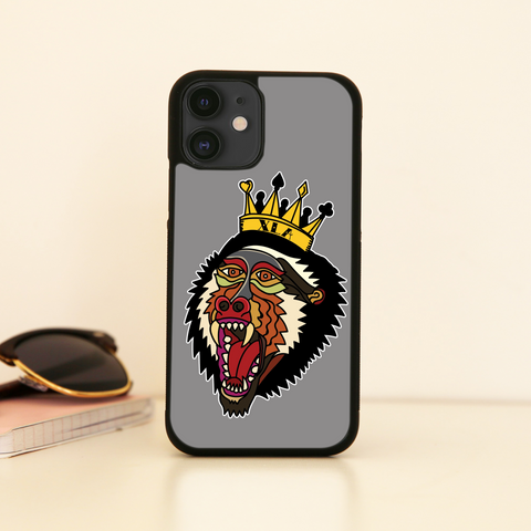Trad Baboon iPhone Case - XLAPPAREL