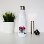 Shattered Heart Stainless Steel Water Bottle - XLAPPAREL