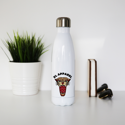 Wild Illusion Stainless Steel Water Bottle - XLAPPAREL