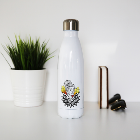 Mandala Stainless Steel Water Bottle - XLAPPAREL