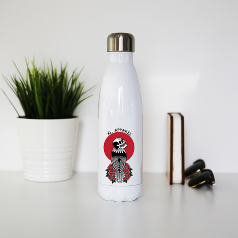 Skull Eagle Stainless Steel Water Bottle - XLAPPAREL