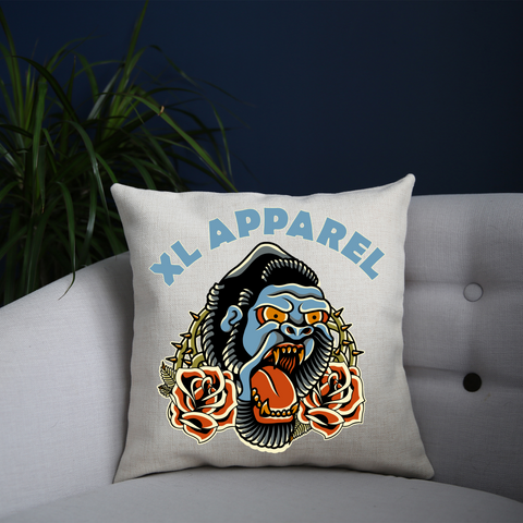 Trad Gorilla Cushion - XLAPPAREL
