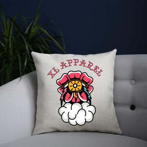 Thunder Rose Cushion - XLAPPAREL
