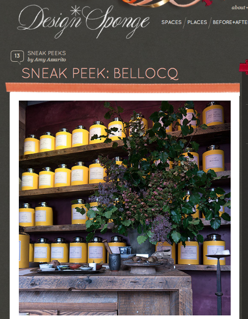 Design*Sponge - Sneak Peek: Bellocq