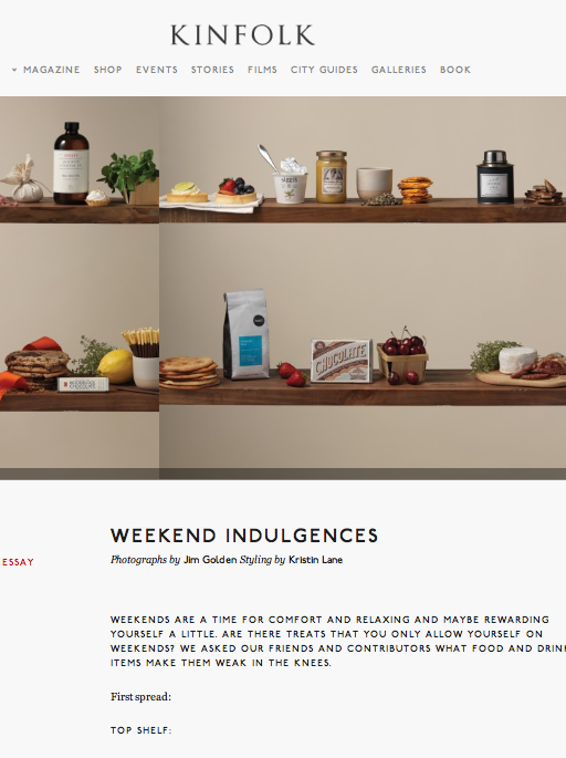 Kinfolk - Weekend Indulgences