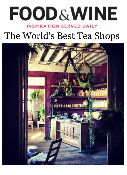 Food and Wine - The World's Best Tea Shops