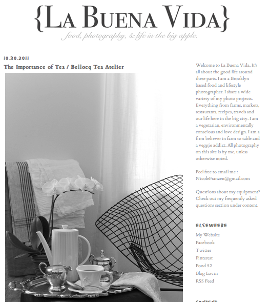 La Buena Vida - The Importance of Tea