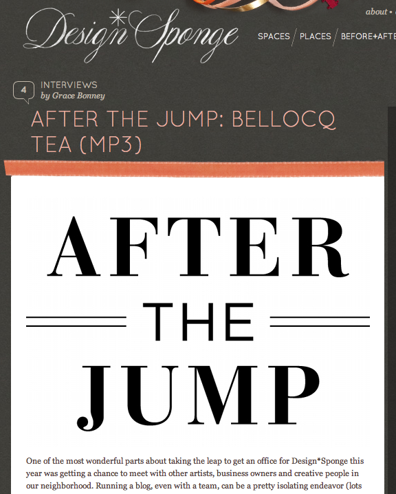AFTER THE JUMP - BELLOCQ TEA (MP3)