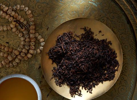 Find organic Puerh tea at Bellocq.
