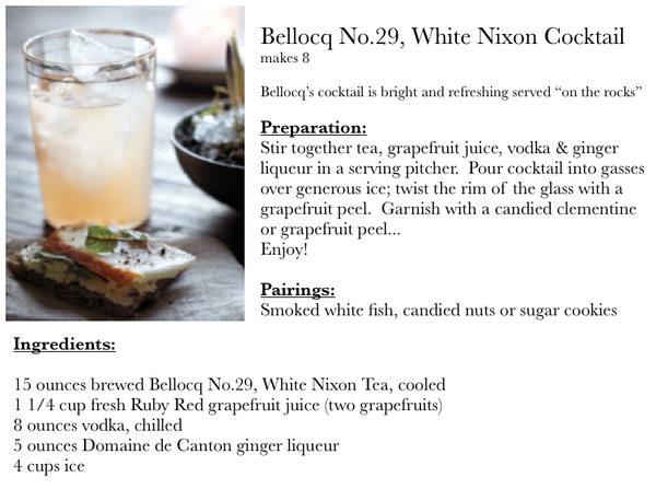 Bellocq No.29, White Nixon Cocktail | BELLOCQ