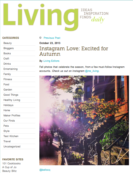 Living - Instagram Love