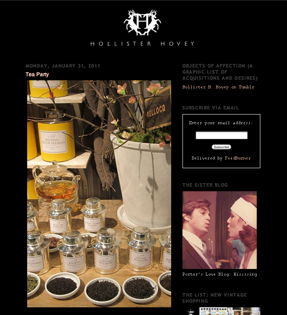 Hollister Hovey - Tea Party