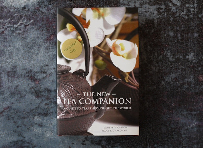 The New Tea Companion autographed tea book