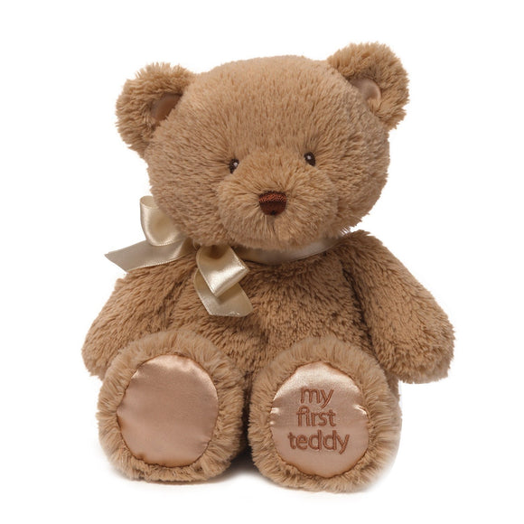 Baby GUND My 1st Teddy Bear Stuffed Animal Plush, Tan 10