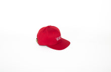 Chilli Red Six Panel Cap