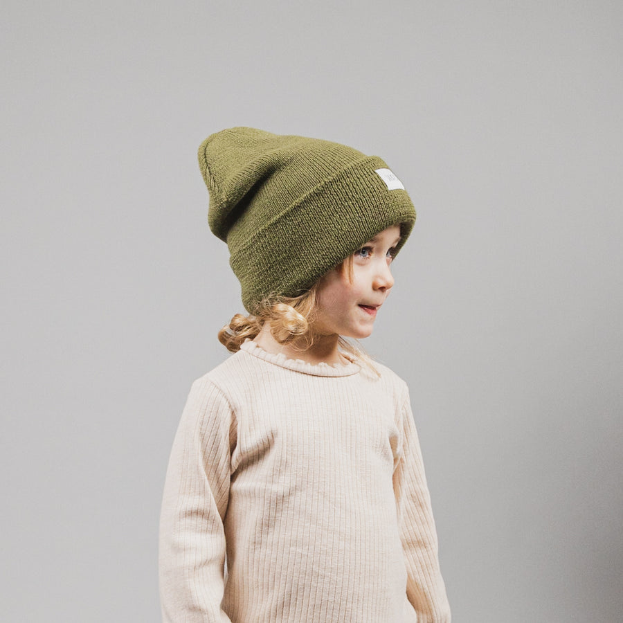The Fiddlehead (Olive Toque)