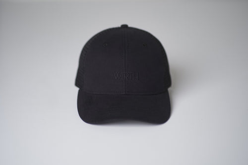 Black Mesh Trucker Cap 2.0