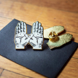 WIRTH Hands Pin