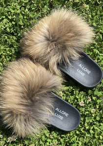 Luxe Fur Slippers