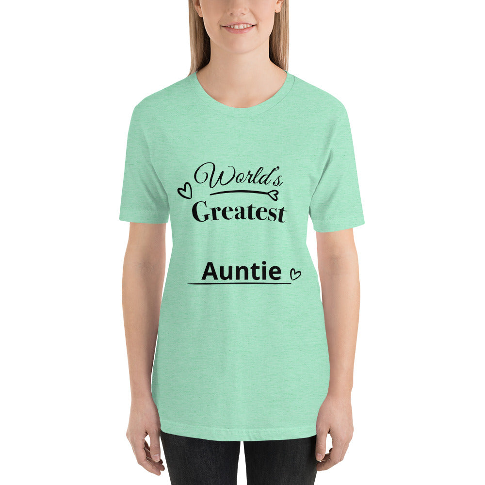 Short-Sleeve Unisex T-Shirt For Aunt's