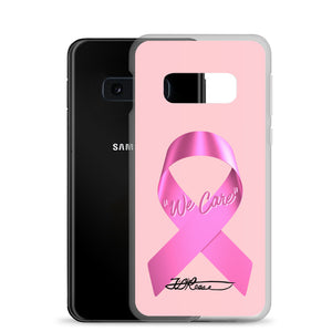 We Care Breast Cancer Samsung Case