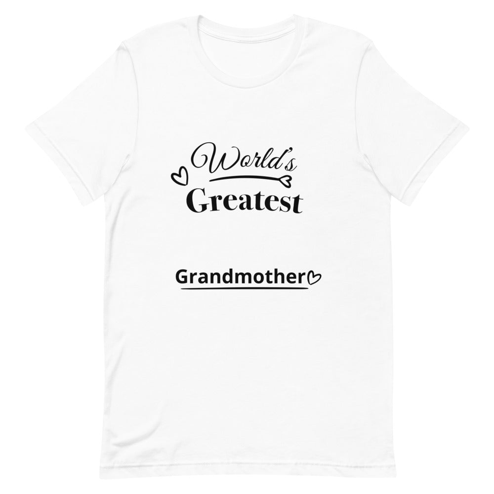 Short-Sleeve Unisex T-Shirt For Grandmother's