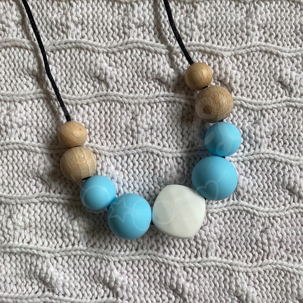 BIG CLEAN OUT! Necklace - Alice Pastel Blue