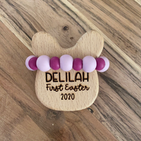 SPACE MAKERS! Rattle - Floral Bunny DELILAH 2020