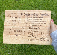 Treats for Santa - Rectangle