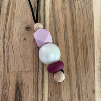 SPACE MAKERS! Kids Necklace - Ariel Wine