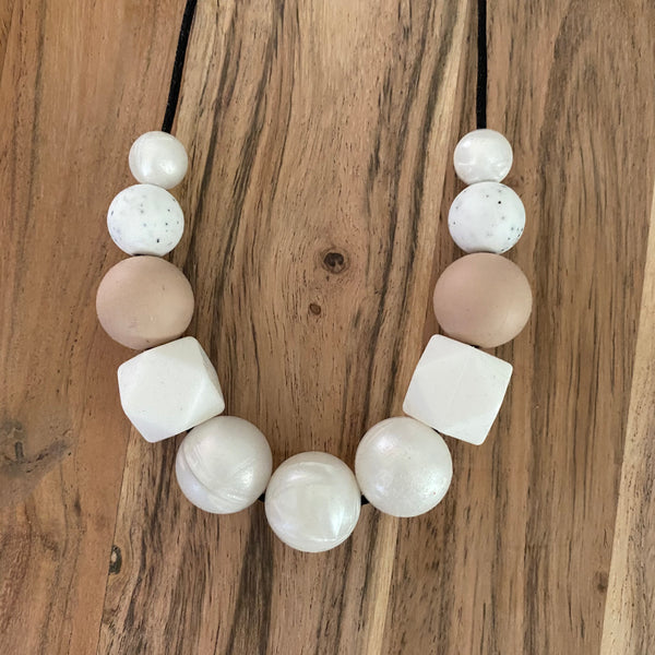 SPACE MAKERS! Necklace Neutrals