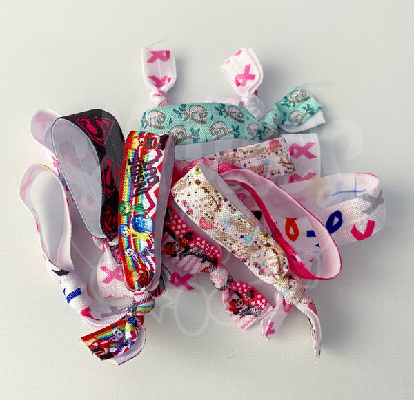 Mix Bags! 10x Hairties for $5