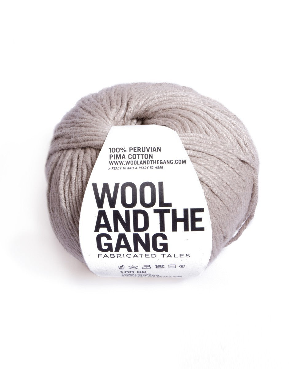 Wool And The Gang - SHINY HAPPY COTTON 100g