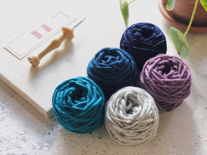 Fiddlesticks - Superb big yarn combo for punch needle
