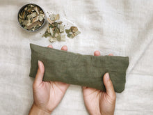 Load image into Gallery viewer, Refillable Handmade Herbs Eye Pillow - Relieve anxiety and fatigue