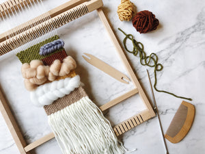 Weaving loom kit - Love
