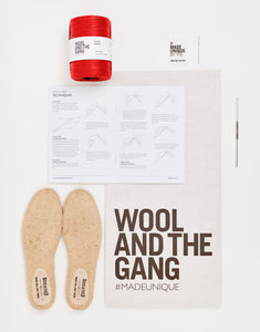 Wool And The Gang X PALOMA ESPADRILLES CROCHET KIT