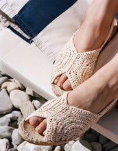 Load image into Gallery viewer, Wool And The Gang X TROPICANA ESPADRILLES CROCHET KIT