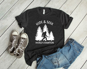 Bigfoot Hide & Seek World Champion Shirt